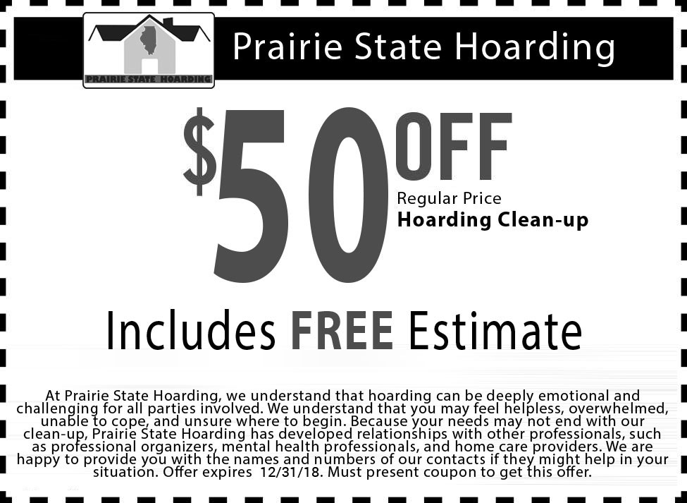 Coupon for Hoarding Cleaning
